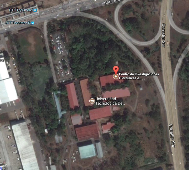 Ubicación CIHH, Tocumen en google maps