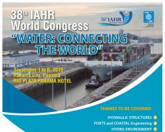 Congreso Mundial de Hidráulica (IAHR) 2019. 38th World Congress